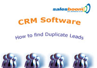 How to find duplicate leads tutorial