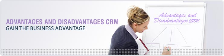 CRM SOFTWARE - advantages and disadvantages of CRM