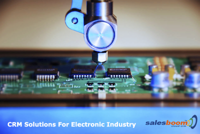 CRM Electronics Industry Software