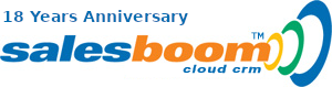 pharmaceutical cloud crm software | Salesboom Logo