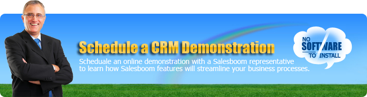 Request Cloud CRM System Demo