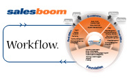 Salesboom On Demand Hosted Cloud CRM / web-based SFA workflow